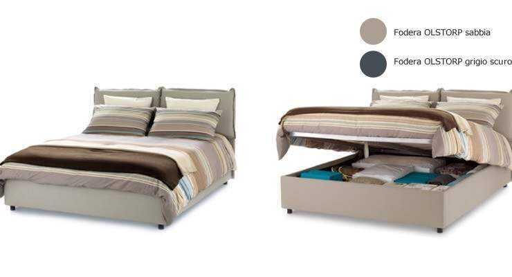 Vendo letto 150x200 con contenitore materasso bra vendo prodotti per la casa - Letto cassettone ikea ...