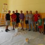 Volontari Tinteggiano Classi E. Mosca
