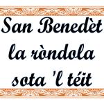 San-Benedèt-la-ròndola-sota-l-téit