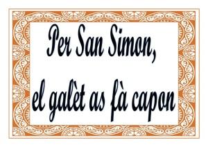 Per-San-Simon-el-galèt
