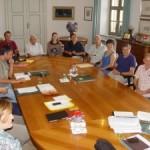 Bra: i volontari del museo Craveri in Giunta